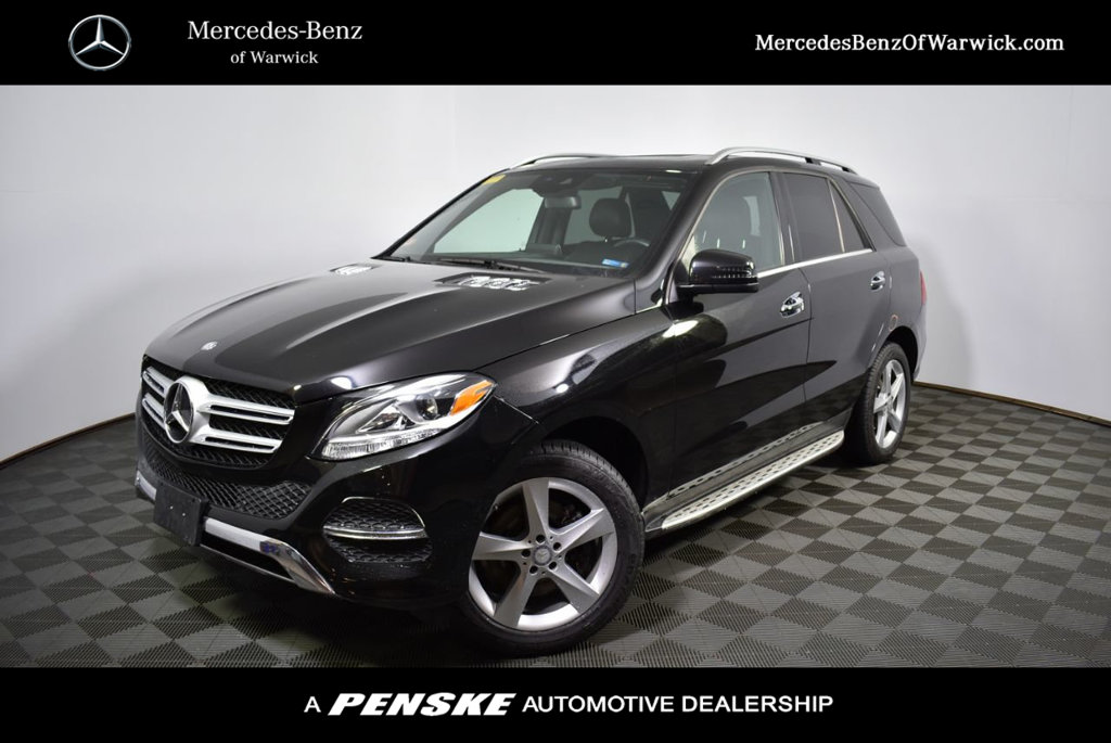 Certified Pre Owned 2016 Mercedes Benz GLE 4MATIC® 4dr GLE 350
