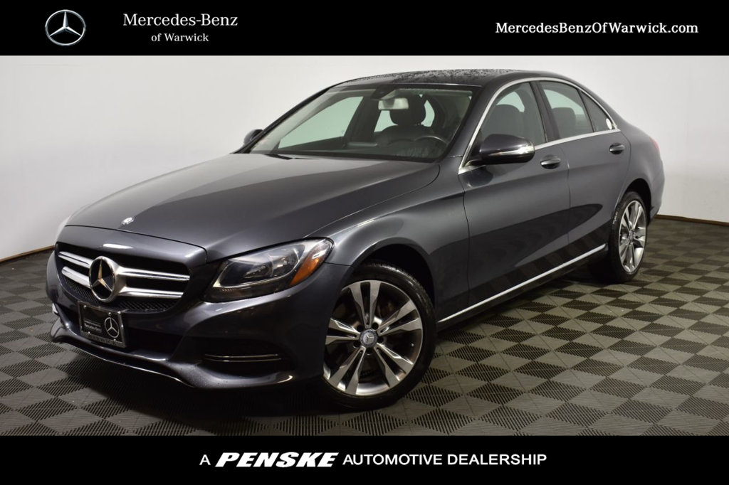 Certified Pre-Owned 2015 Mercedes-Benz C-Class 4dr Sedan C 300 4MATIC®