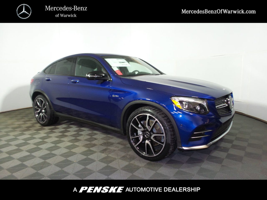 New 2018 mercedes benz glc amg glc 43 4matic coupe coupe for Mercedes benz financial payment address