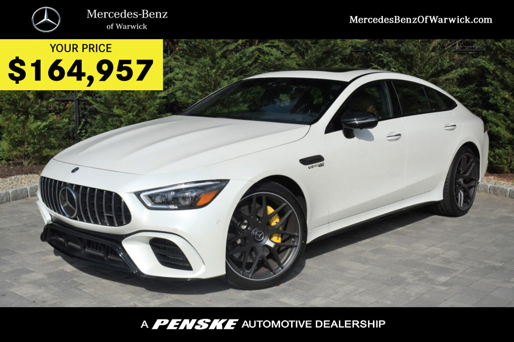 New Mercedes Benz >> New 2019 Mercedes Benz Amg Gt 63 S 4 Door Coupe With Navigation