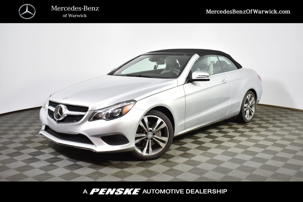 Certified Pre-Owned 2016 Mercedes-Benz E-Class 2dr Cabriolet E 400 RWD