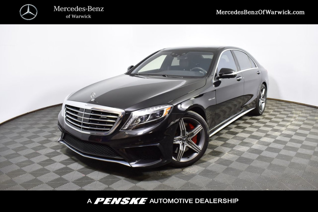 Certified Pre-Owned 2017 Mercedes-Benz S-Class AMG® S 63 Long Wheelbase 4MATIC®