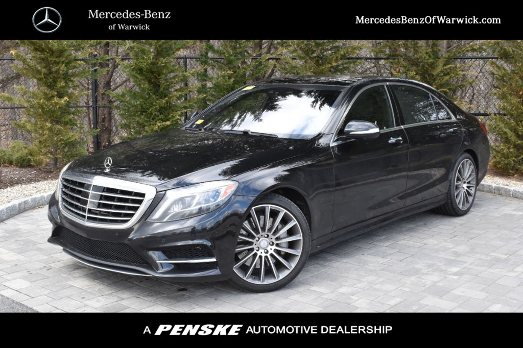 Certified Pre-Owned 2017 Mercedes-Benz S-Class S 550 Sport