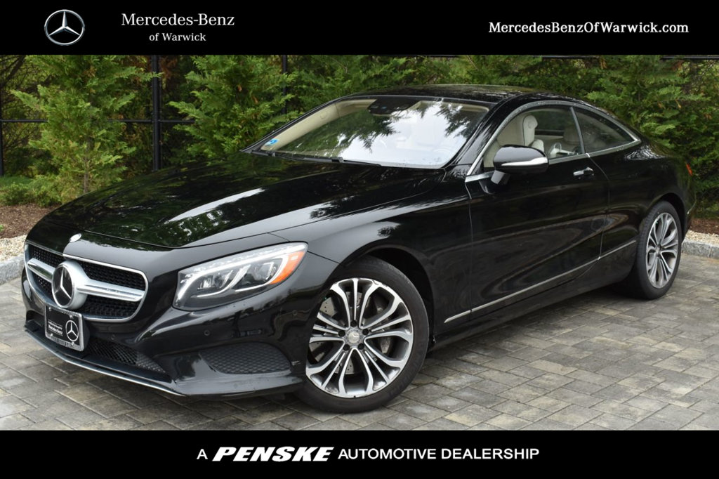 Pre-Owned 2015 Mercedes-Benz S-Class 2dr Coupe S 550 4MATIC®