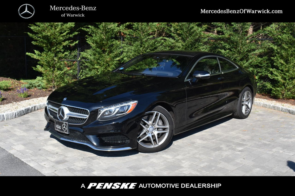 Certified Pre-Owned 2015 Mercedes-Benz S-Class 2dr Coupe S 550 4MATIC®