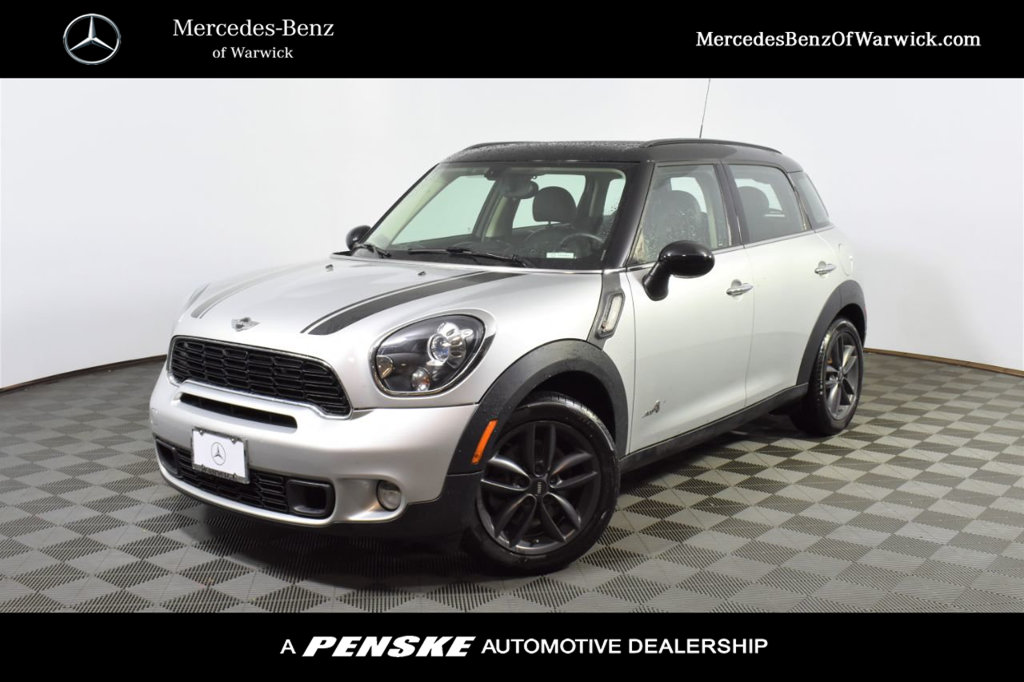 All Wheel Drive Suv Pre Owned 2017 Mini Cooper S Countryman All4
