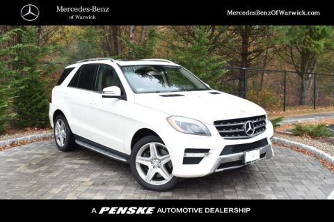 Pre-Owned 2013 Mercedes-Benz M-Class 4MATIC® 4dr ML 550